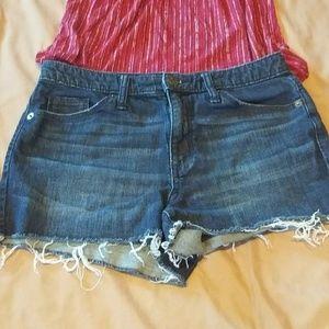 Universal Thread High Rise Shortie Shorts …